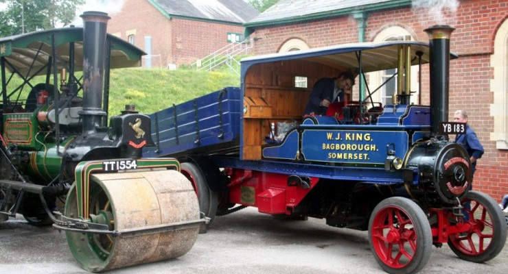 Spring Rally (Sun) & Waterworks Steaming Day (Mon)