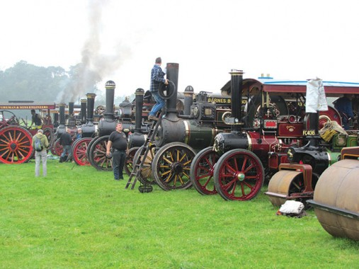 Raising steam at the start of the day at Old Warden (photo: Ted Tomlin)