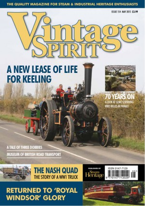 Vintage Spirit Magazine May 2015