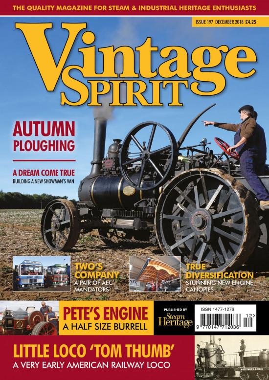 Vintage Spirit Magazine December 2018