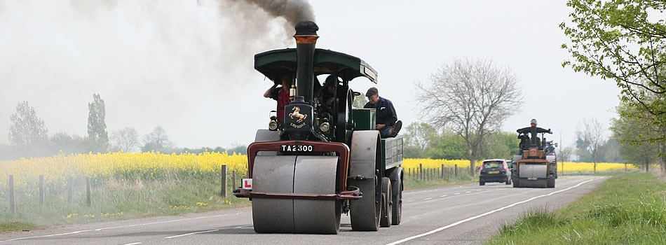 A diary of some 1,300 events including steam rallies, vintage shows and airshows
